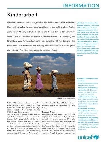 Download starten - Unicef