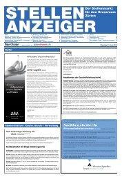 Technische Sachbearbeiterin - E-Paper Anmeldung - Tages-Anzeiger