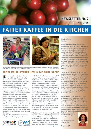 Download (PDF; 2,5 MB) - Fairer Kaffee in die Kirchen