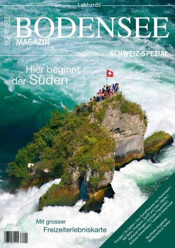 Bodensee Magazin Schweiz 2013 - v3 - Thurbo