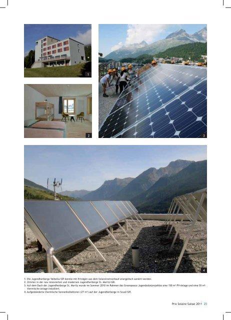 Schweizer Jugendherbergen, 8042 Zürich/ZH - Solar Agentur Schweiz