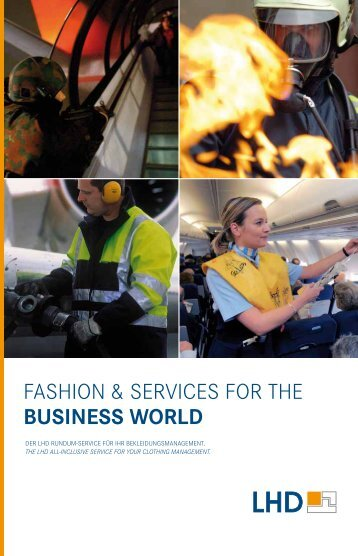 FasHion & seRViCes FoR tHe bUSInESS woRLD - Jas AG