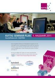 KUTTIG SEMINAR-PLAN 1. HALBJAHR 2011