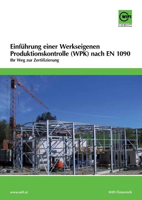 Einführung einer Werkseigenen ... - WIFI Vorarlberg