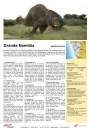 Grande Namibia - ITO Reisen