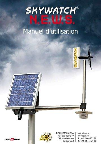 Manuel d'utilisation - JDC Electronic SA