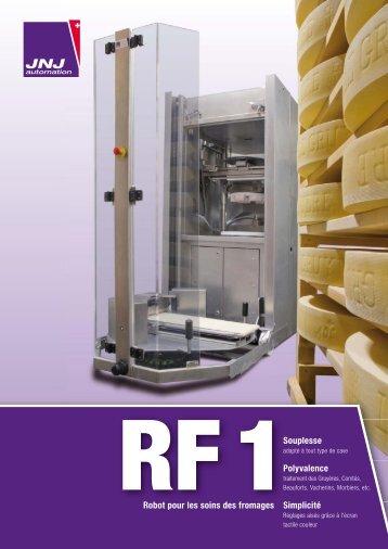 Fiche produit Robot de soins des fromages RF1 - JNJ automation SA