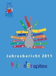 Jahresbericht 2011 - Verein Joël Mühlemann Schweiz