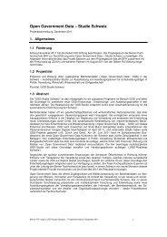 OGD Studie Schweiz - itopia