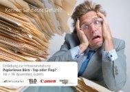 Papierloses Büro - top oder Flop - IT Service Plus AG