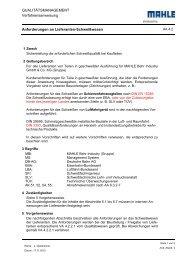 Anforderungen an Lieferanten-Schweißwesen - Mahle-behr-industry ...