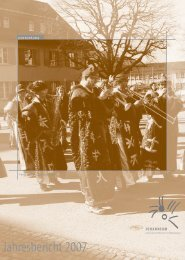 Jahresbericht 2007 - Johanneum
