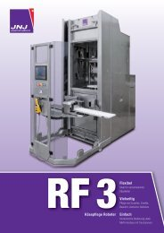 Komponenten der Maschine - JNJ automation SA