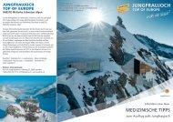Medizinische Tipps - Jungfraubahnen