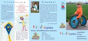 Flyer (deutsch) - Verein Joël Mühlemann Schweiz