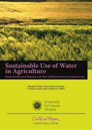 Sustainable Use of Water in Agriculture - Watercivilizations.org