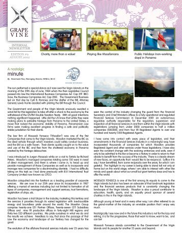 Grapevine 9 - portadaback - Mossack Fonseca  & Co.