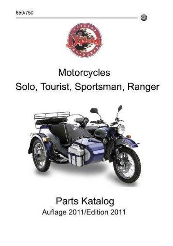 Der neue Ural-Lizent Katalog - Moto Moscow