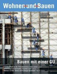 Wohnen und Bauen 70 Wohnungen an der Tribschenstrasse Luzern