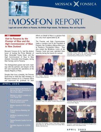 MossFonReport April 2003 for PDF.qxd - Mossack Fonseca  & Co.