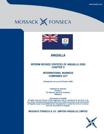 MF&Co. - British Anguilla IBC Law.pdf - Mossack Fonseca  & Co.