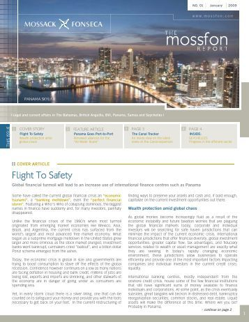 Flight To Safety - Mossack Fonseca  & Co.