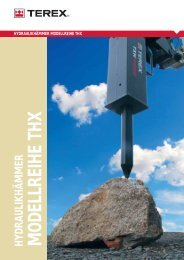 TXH250S Datenblatt - Terex Corporation