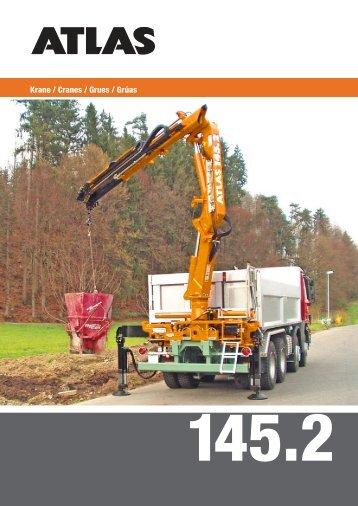 Krane / Cranes / Grues / Grúas - ATLAS Maschinen GmbH