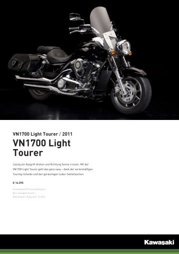 VN1700 Light Tourer