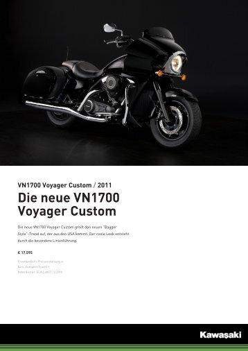 VN1700 Voyager Custom - Motorrad MOK