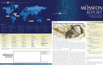 MOSSFON REPORT - Mossack Fonseca  & Co.