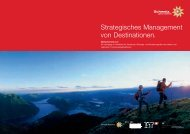Strategisches Management von Destinationen. - IST Internationale ...