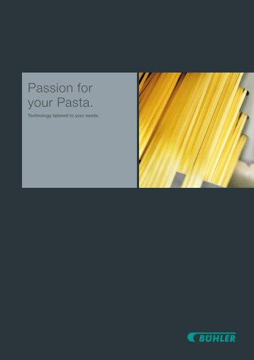 Passion for your Pasta.