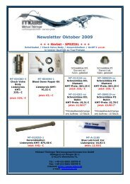 Newsletter Oktober 2009 - MTWS Michael Thüringer ...