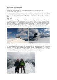 Walliser Gipfelwoche - Aktiv am Berg