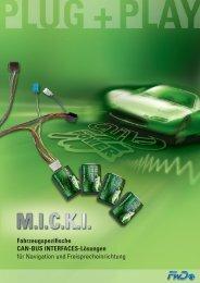 Fahrzeugspezifische CAN-BUS INTERFACES-Lösungen für ...