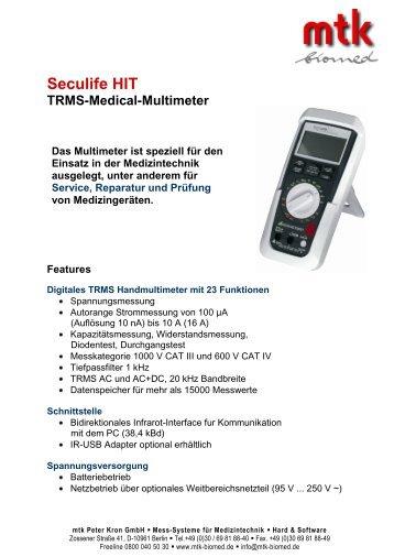Datenblatt (329.08 kb) - MTK Peter Kron GmbH