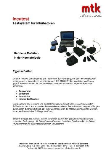 Download Datenblatt (284.25 kb) - MTK Peter Kron GmbH