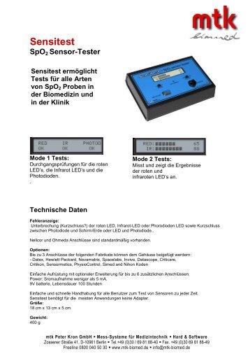 Datenblatt (248.66 kb) - MTK Peter Kron GmbH