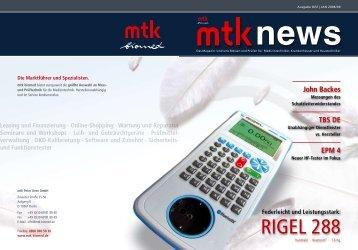 Rigel 288 - MTK Peter Kron GmbH