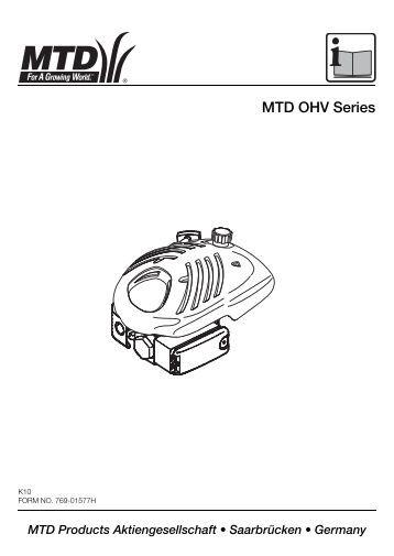 MTD OHV Series - MTD Europe
