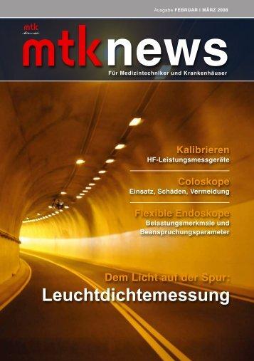 Leuchtdichtemessung - MTK Peter Kron GmbH