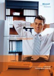 Broschüre Finanzmanagement (PDF) - msu solutions GmbH