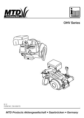 OHV Series - MTD Europe