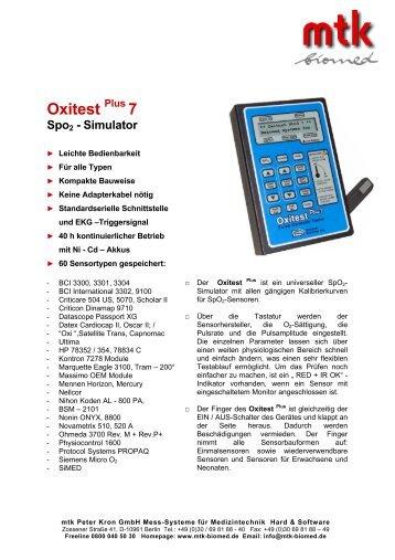 Datenblatt (132.21 kb) - MTK Peter Kron GmbH