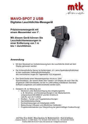 Datenblatt (166.15 kb) - MTK Peter Kron GmbH