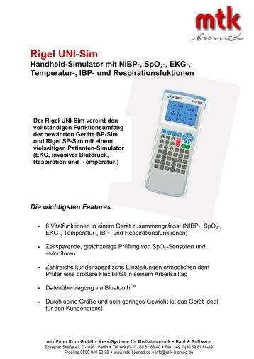 Download Datenblatt (159.74 kb) - MTK Peter Kron GmbH