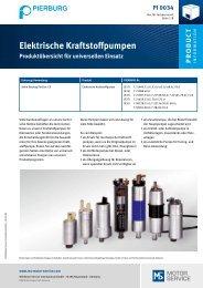 ElektrischeKraftstoffpumpen - MS Motor Service Deutschland GmbH