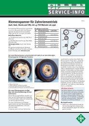 SERVICE-INFO - MS Motor Service Deutschland GmbH