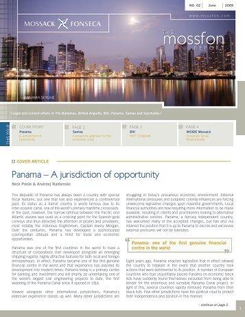 June 2009 - Mossack Fonseca  & Co.